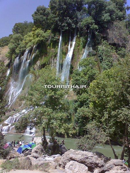 عکس آبشار بیشه
