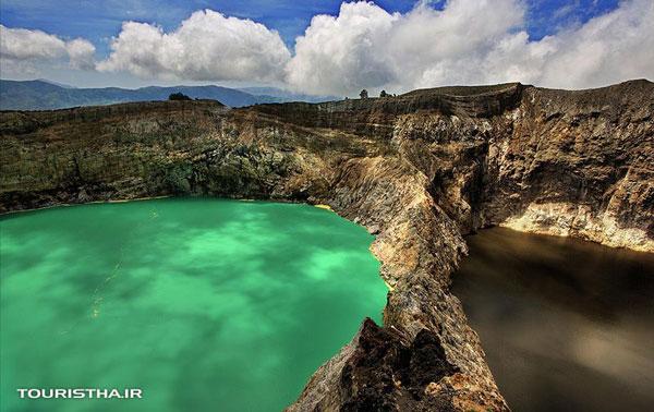 دریاچه های سه رنگ اندونزی