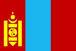 پرچم مغولستان