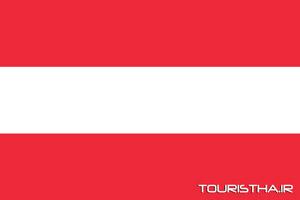 عکس پرچم اتریش