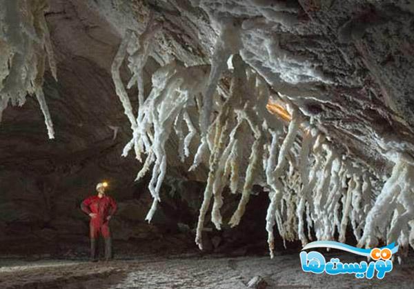 طولانیترین غار نمکی جهان
