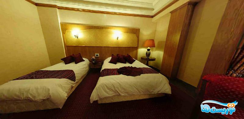 عکس اتاق هتل قصر طلایی