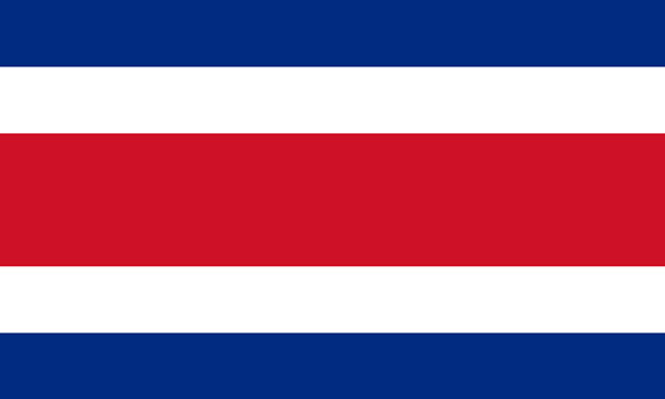 پرچم کاستاریکا