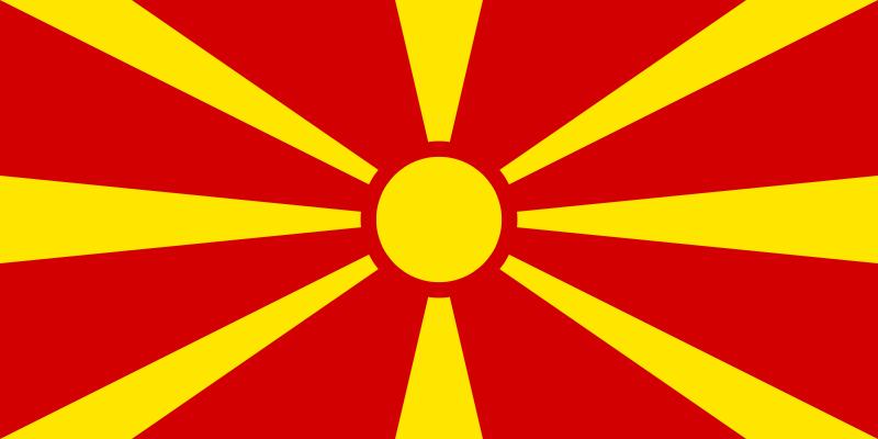 پرچم مقدونیه