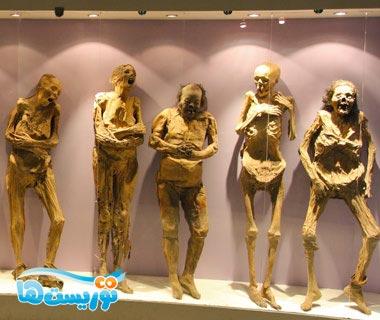 موزه مومیایی ها – مکزیک
