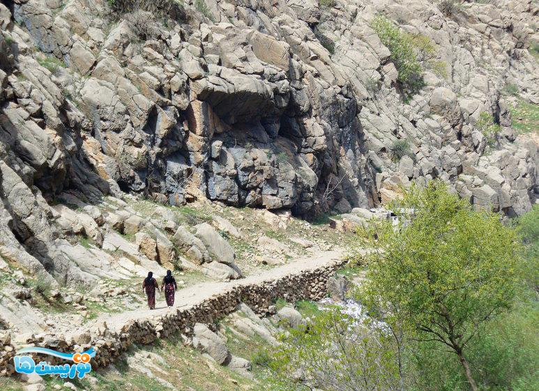 عکس روستای پالنگان
