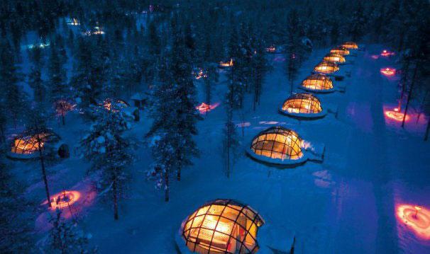 «هتل یخی» - فنلاند