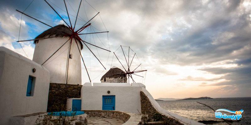 جزایر یونانی در سایکلیدس