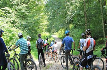گردشگران دوچرخه سوار
