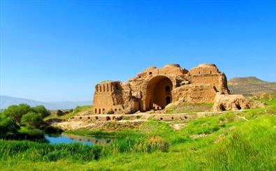 بناهای ساسانی