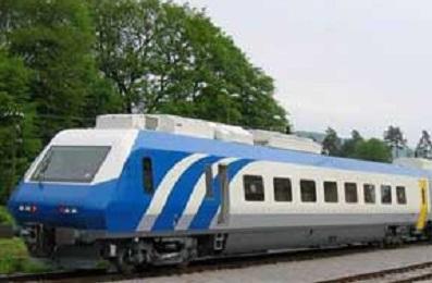 قطار گردشگران اروپایی
