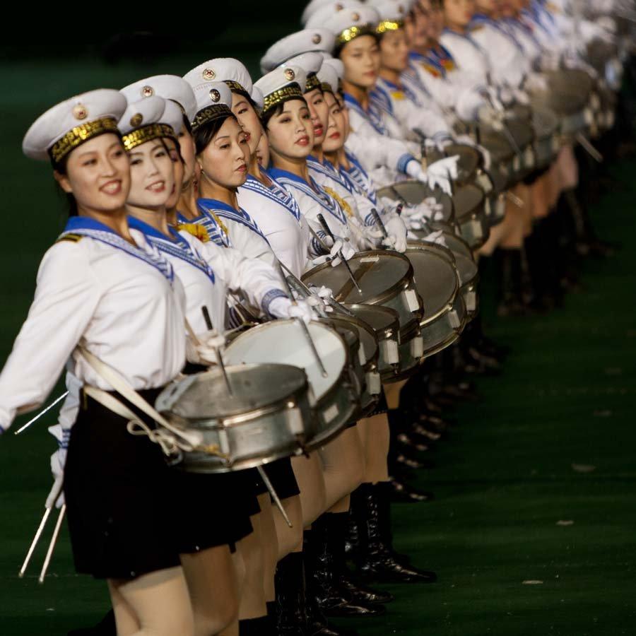 بازیهای تودهای کره شمالی