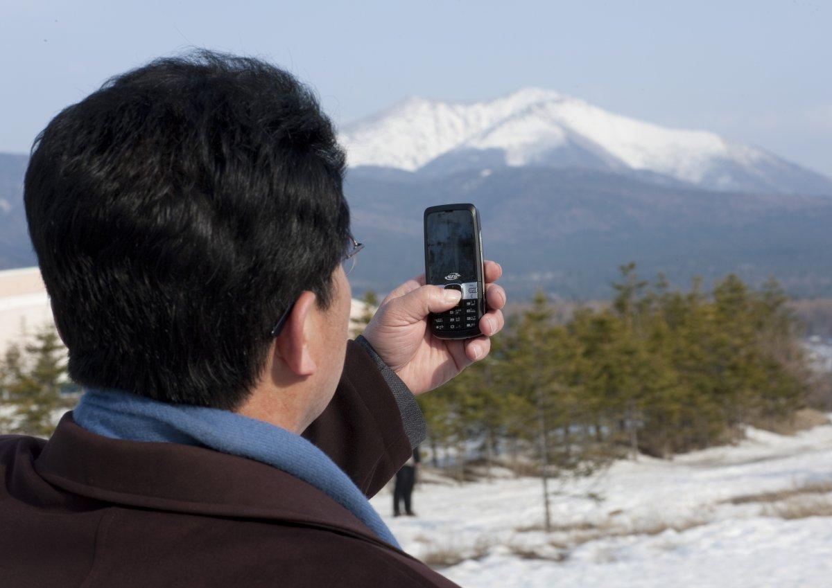موبایل در کره شمالی