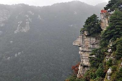 صخره ای شبیه صورت انسان