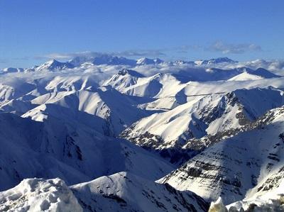 کوههای البرز
