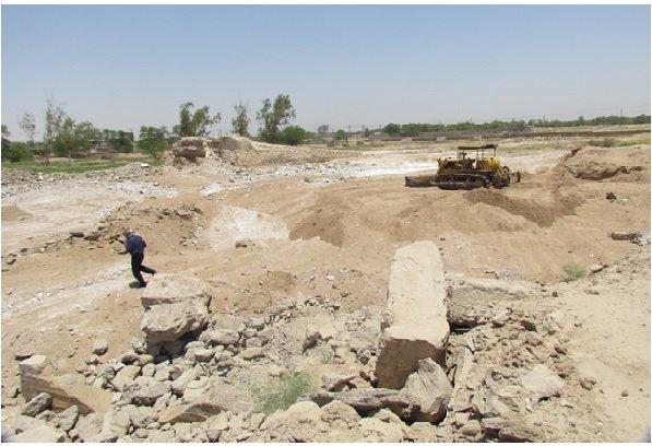 محوطه باستانی حمیدیه