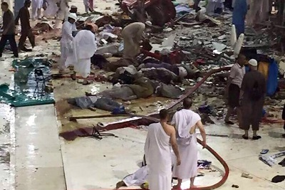 کشتهشدگان حادثه مکه