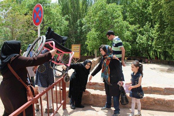 گردشگری معلولان