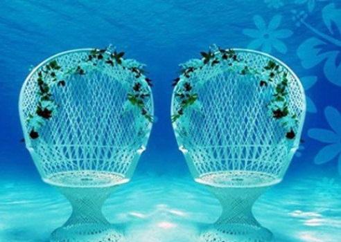 عروسی زیر آب