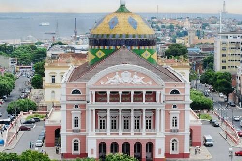 تئاتر آمازوناس ،مانائوس