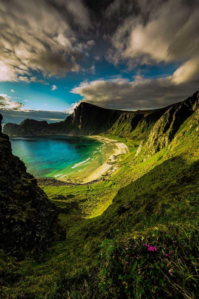 ساحل زیبای نروژ