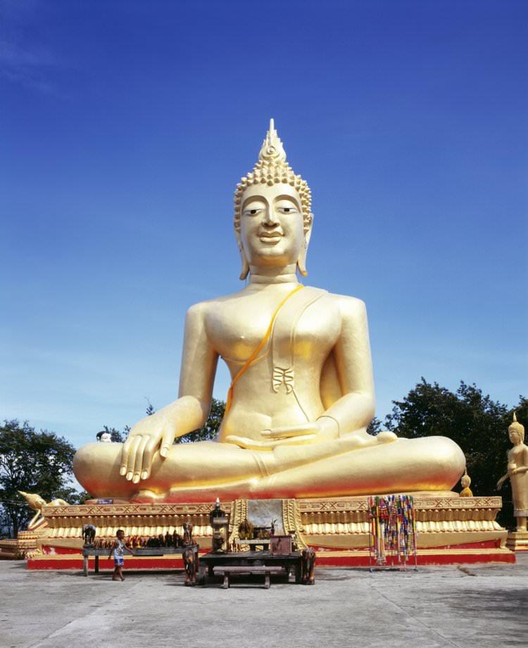 khao-phra-tamnak معبد مجسمه نشسته پاتایا