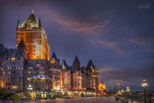 شهر کبک در مشرق کانادا-Quebec-City-Canada