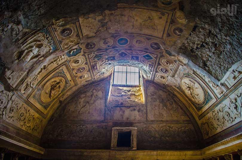 حمام حرارتی شهر پمپی-pompeii_thermal_baths