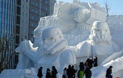 فستیوال برف یخ ژاپن
