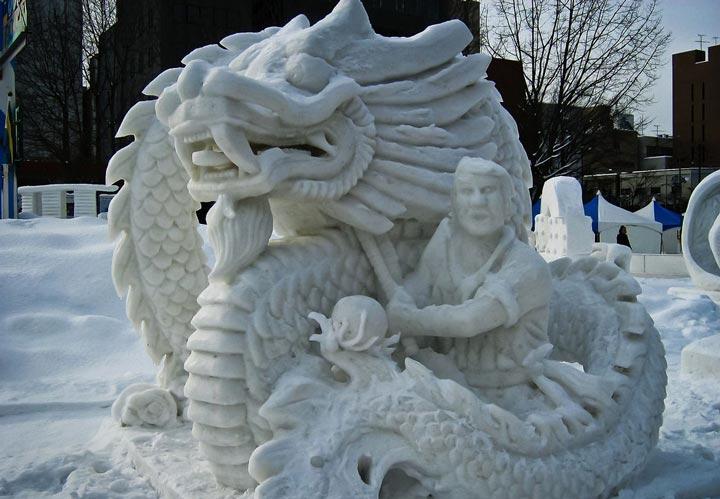 فستیوال برف ساپورو