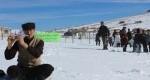 راه ورود به روستای گردشگری سوباتان در زمستان نیز باز شد