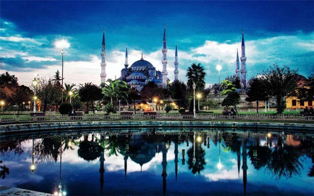 مسجد آبی استانبول ترکیه
