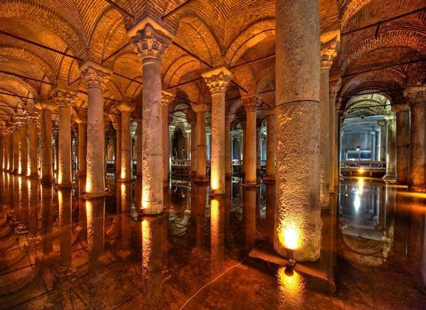 کلیسای مخزن استانبول ترکیه
