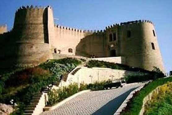 تصویر ریزش قلعه فلکالافلاک تکذیب شد