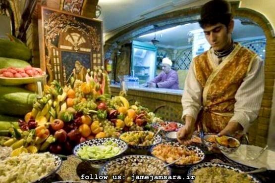 تصویر گردشگری غذا جاذبه فراموششده ایران