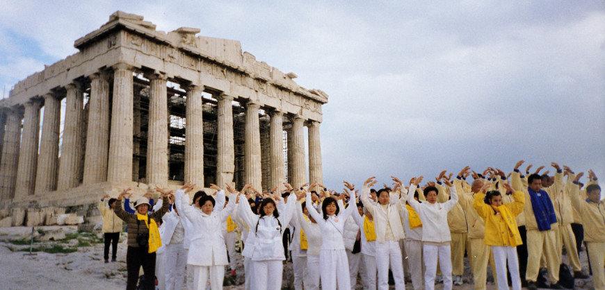گردشگران چینی در یونان