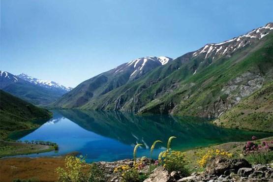 تصویر پیگیری تخریب طبیعت دریاچه گهر در «سرزمین ما»